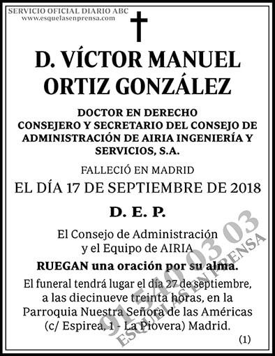 Víctor Manuel Ortiz González